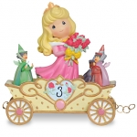 Z Third Birthday Aurora Figurine by Precious Moments
