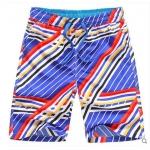 Pre-order กางเกงขาสั้น กางเกงลำลองฤดูร้อน กางเกงทะเล แฟชั่นสไตล์เกาหลี สำหรับหนุ่มไซส์ใหญ่ Four - color twill