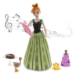 Anna Deluxe Singing Doll Set - 11''