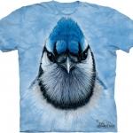 Pre.เสื้อยืดพิมพ์ลาย3D The Mountain T-shirt : Bluejay