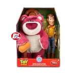 z Woody talking & Lotso Talking Acting Figure Gift Pack - Toy Story From USA