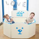 Creamhaus New Ice Castle คอกกั้นเด็ก คอกเบาะ ใช้เป็นเบาะรองคลาน กั้นเตียง PLAYMAT ใช้เป็นบ่อบอล และโซฟาได้