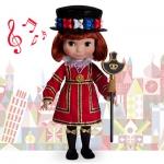 Z Disney ''it's a small world'' England Singing Doll - 16'' (พร้อมส่ง)