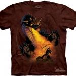 Pre.เสื้อยืดพิมพ์ลาย3D The Mountain T-shirt : Standoff
