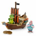 z Mr. Smee and Tick-Tock Jolly Roger Play Set