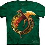 Pre.เสื้อยืดพิมพ์ลาย3D The Mountain T-shirt : Circle Dragon MD