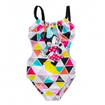 Minnie Mouse Geometric Swimsuit for Girls from Disney USA ของแท้100% นำเข้า จากอเมริกา
