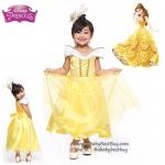 """"""" ชุดเดรส เจ้าหญิงเบล Belle Princess ชุดแฟนซีเจ้าหญิง ผ้าดี ใส่สบาย (สำหรับเด็กอายุ 2-10 ปี)"""