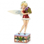 z Tinker Bell ''Holiday Wishes'' Figure by Jim Shore