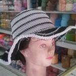 หมวกถัก โครเชต์ เชือกร่ม
