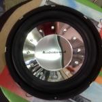 ลำโพงรถยนต์ซับวูฟเฟอร์ 12 นิ้ว เหล็กหล่อ ว้อยคู่ แม่เหล็ก 2 ชั้น ยี้ห้อ AUDIOBAND (จำนวน 2 ดอก)