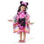 Minnie Mouse Hooded Towel for Kids from Disney USA ของแท้100% นำเข้า จากอเมริกา