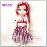z W030 เสื้อผ้า Disney Animators' Collection Doll - 16'' (พร้อมส่ง)