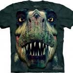 Pre.เสื้อยืดพิมพ์ลาย3D The Mountain T-shirt : Rex Portrait