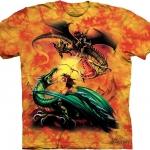 Pre .เสื้อยืดพิมพ์ลาย3D The Mountain T-shirt : The Duel