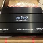 เพาเวอร์แอมป์รถยนต์ 4 ch 4000W ยี้ห้อ MDS รุ่น 65/4
