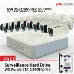 Hikvision POE Kit DS-7108NI-SN/P, DS-2CD2010F-Ix8