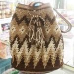 กระเป๋าถัก โครเชต์ กระเป๋าวายู wayuu bag