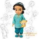 z Disney Animators' Collection Jasmine Doll - 16'' (พร้อมส่ง) Disney Animators' Collection Cinderella Doll - 16'' (พร้อมส่ง) ตุ๊กตาดีสนีย์ แอนิเมเตอร์ เจ้าหญิงจัสมิน รุ่นเก่า (รุ่นแรก)
