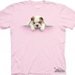 Pre.เสื้อยืดพิมพ์ลาย3D The Mountain T-shirt : Lazy Bulldog MD