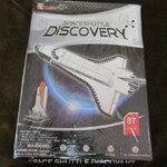 จิ๊กซอว์ 3D 87 ชิ้น space shuttle discovery