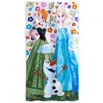 "z "" Beach Towel Frozen Elsa & Anna & Olaf ของแท้ นำเข้าจากอเมริกา"