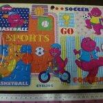 จิ๊กซอว์ 40 ชิ้น Barney (sports)