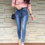 กางเกงแฟชั่น Korea style กางเกงสไตล์เกาหลีรุ่นใหม่ เอวสูง ดูเรียบๆใส่ง่าย