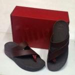 รองเท้า Fitflob Sling for men Brown สีน้ำตาล No.FF145 ไซส์ 36-44
