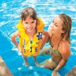 """ ( Intex เสื้อชูชีพสำหรับเด็ก สำหรับฝึกว่ายน้ำ Step2"