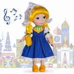z Disney ''it's a small world'' Holland Singing Doll - 16'' (พร้อมส่ง)