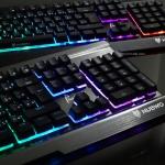Nubwo Phantom Plus+ Nk-55 Semi Mechanical Blue Switch Keyboard