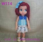 W114 เสื้อผ้าตุ๊กตา- Disney Animators' Collection Doll - 16'' (พร้อมส่่ง)