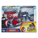 z Captain America Shield Blast Motorcycle