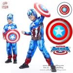 """ Captain America Shield Size30CM. โล่กัปตันอเมริกา สุดเท่ห์ ขนาด 30 เซนติเมตร มีไฟ และ มีเสียง"