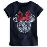 Minnie Mouse Icon Glitter Tee for Girls เสื้อเด็ก ลายมินนี่เม้าส์ (12-18month)