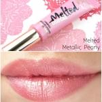 **พร้อมส่ง+ลด 50%**Too Faced Long Wear Lipstick สีmetallic peony ขนาดทดลอง 5 มิล ไม่มีกล่อง