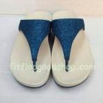 รองเท้า Fitflob Astrid Sandal หูหนีบเกล็ดเพชร สีน้ำเงิน No.FF361