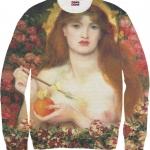 Pre-Order เสื้อยืดพิมพ์ลาย MR.GUGU & Miss GO : Lady sweater