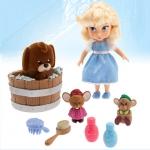 (Mini) Disney Animators' Collection Cinderella Mini Doll Play Set - 5'' ของแท้ นำเข้าจากอเมริกา