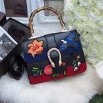 กระเป๋านำเข้า กระเป๋า Fashion งานปัก นูน 3 มิติ งานสวยสุดไฮคลาส วัสดุหนัง canvas