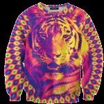เสื้อยืดพิมพ์ลาย MR.GUGU & Miss GO : Tiger sweater