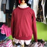 เสื้อกันหนาวเด็กสีแดงเลือดนก PinkIdeal