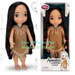 z Disney Animators' Collection Pocahontas Doll - 16'' รุ่นใหม่ (พร้อมส่ง) ตุ๊กตาดีสนีย์ แอนิเมเตอร์ เจ้าหญิงโพคาฮอลทัส รุ่นใหม่ รุ่น2 (รุ่นสอง)