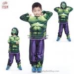 """"""" ชุดแฟนซี เด็กผู้ชาย Hulk - The Avengers Super Hero ( 4-6-8-10 ปี ) - The Hulk เสมือนจริง มาพร้อมกับเสื้อ กางเกง หน้ากาก เพื่อให้คุณหนูๆได้สนุกกับชุดsuper hero คนโปรดตามจิตนาการ ชุดสุดเท่ห์ ใส่สบาย ลิขสิทธิ์แท้"""