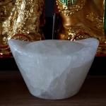 ก้อนเงินก้อนทอง ขนาดสูง 6 เซนติเมตร กว้าง 9 เซนติเมตร (หินหยกน้ำผึ้งแก้ว) (ก้อนละ)