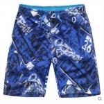 Pre-order กางเกงขาสั้น กางเกงลำลองฤดูร้อน กางเกงทะเล แฟชั่นสไตล์เกาหลี สำหรับหนุ่มไซส์ใหญ่ Grew Blue