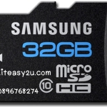 SAMSUNG Micro SD Card 32 Gb Class 10