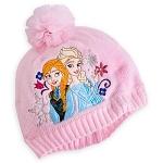 z Anna and Elsa hat for girl - Pink from Disney USA แท้100% นำเข้าจากอเมริกา