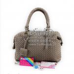 Pre-Order กระเป๋าหนังแกะสานสีเทา easeu กระเป๋าถือเล็ก กระเป๋าแฟชั่นผู้หญิงทำงาน